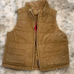 Reversible baby puffer vest size 12 to 18 months